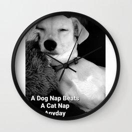 Jax Nap Wall Clock