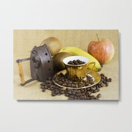 Farmer's breakfast Metal Print