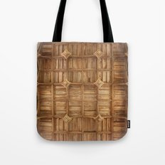 Wooden church ceiling  Tote Bag