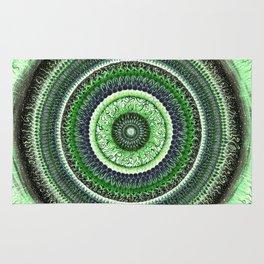Living Forest Mandala Rug