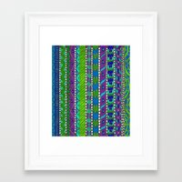 greece Framed Art Prints featuring Greece by Kimberly McGuiness