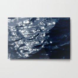 Sunshining Sea Metal Print