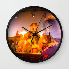 Diffraction 4 Wall Clock