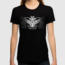 Old School Motorcycle T-shirt
