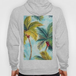 Palm Tree Allover Hoody