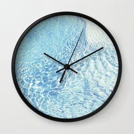 water and me 1 Wall Clock