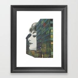 Private eyes Framed Art Print