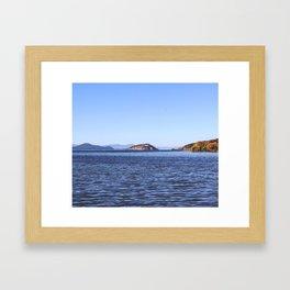 Klamath Lake Framed Art Print