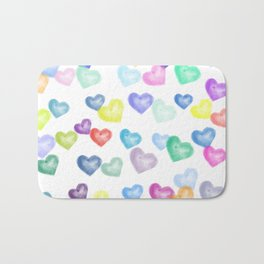 Hearts Aflutter Bath Mat