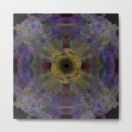 Color Hesh Metal Print