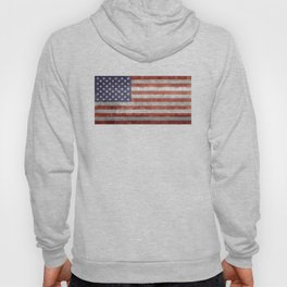 USA flag, High Quality retro style Hoody