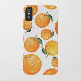 Rome Forest Oranges iPhone Case