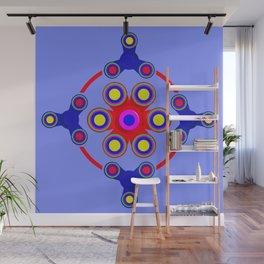 Fidget Spinner Design version 4 Wall Mural