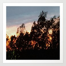Sunset IV Art Print