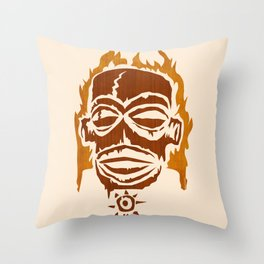 PNG AFIRE Throw Pillow