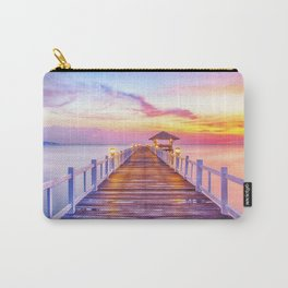 Colorful Pier Carry-All Pouch