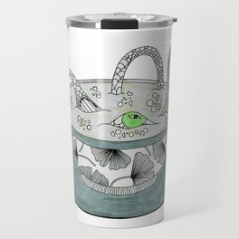 Tea with birds. Travel Mug