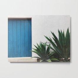 blue door Metal Print