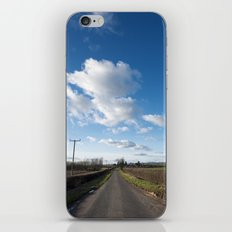 many miles of sky... iPhone & iPod Skin