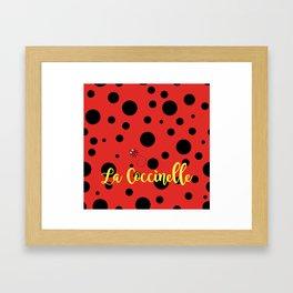 La Coccinelle Framed Art Print