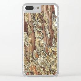 Fungi Clear iPhone Case