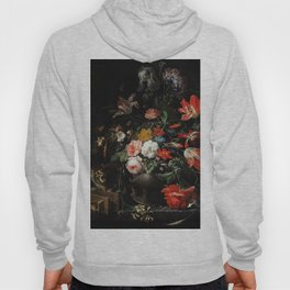 The Overturned Bouquet by Abraham Mignon (1660-1679) Hoody