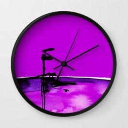 Introspection No. 20K by Kathy Morton Stanion Wall Clock