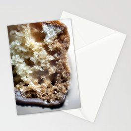 Salted caramel chocolate biscotti Stationery Cards
