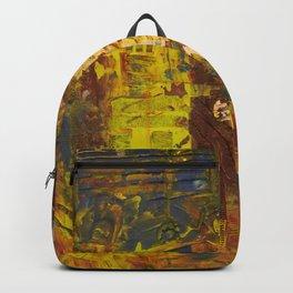 Autumn Flower Distress Backpack