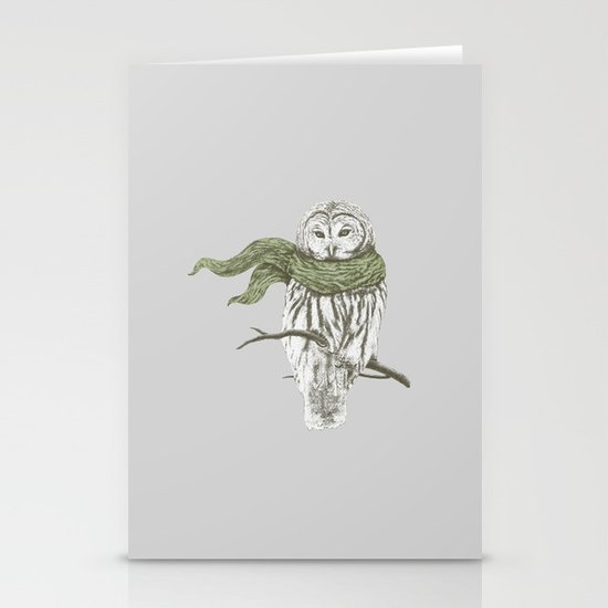 Cold Stationery Cards