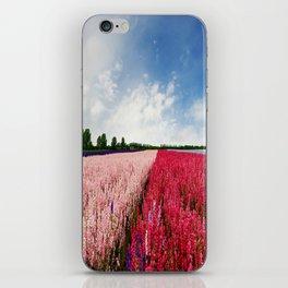 Delphiniums iPhone Skin