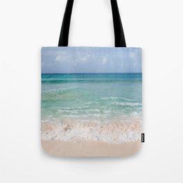 Beachin' on Barbados Tote Bag