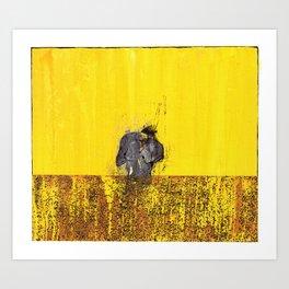 D (II) Art Print