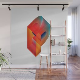 The Letter P Wall Mural