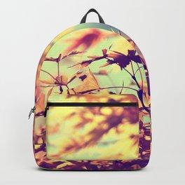 SUBTLE MAPLE - AUTUMN TEAL Backpack