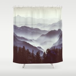 Upcoming Trip Into The Wild Shower Curtain