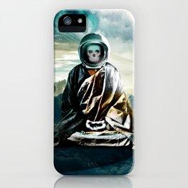 astrozen     floating zen buddhist finding true self iPhone Case