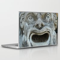 scream Laptop & iPad Skins featuring scream by death above