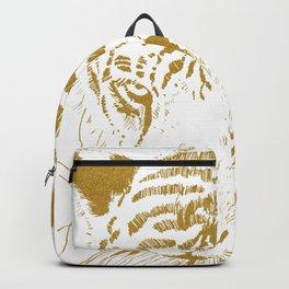 Golden tiger Backpack