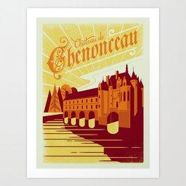 Chenonceau Art Print