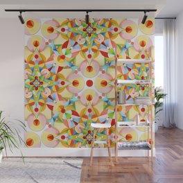 Pretty Pastel Carousel Wall Mural