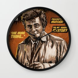 Columbo - TV Show Comic Poster Wall Clock