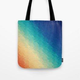 Warm to Cool Texture Tote Bag