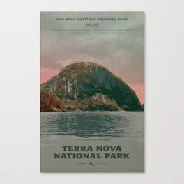 Terra Nova National Park Canvas Print