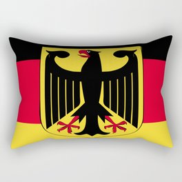 Germany flag emblem Rectangular Pillow
