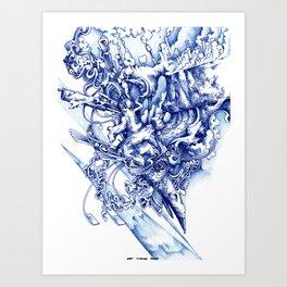skine Art Print