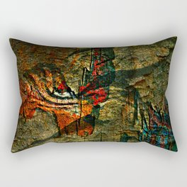 Cave Drawings Rectangular Pillow