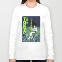 gaming Long Sleeve T-shirts featuring Tokyo Gaming by monocefalus