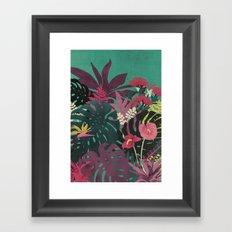 Tropical Tendencies Framed Art Print
