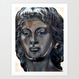 Bronzed Beauty Art Print